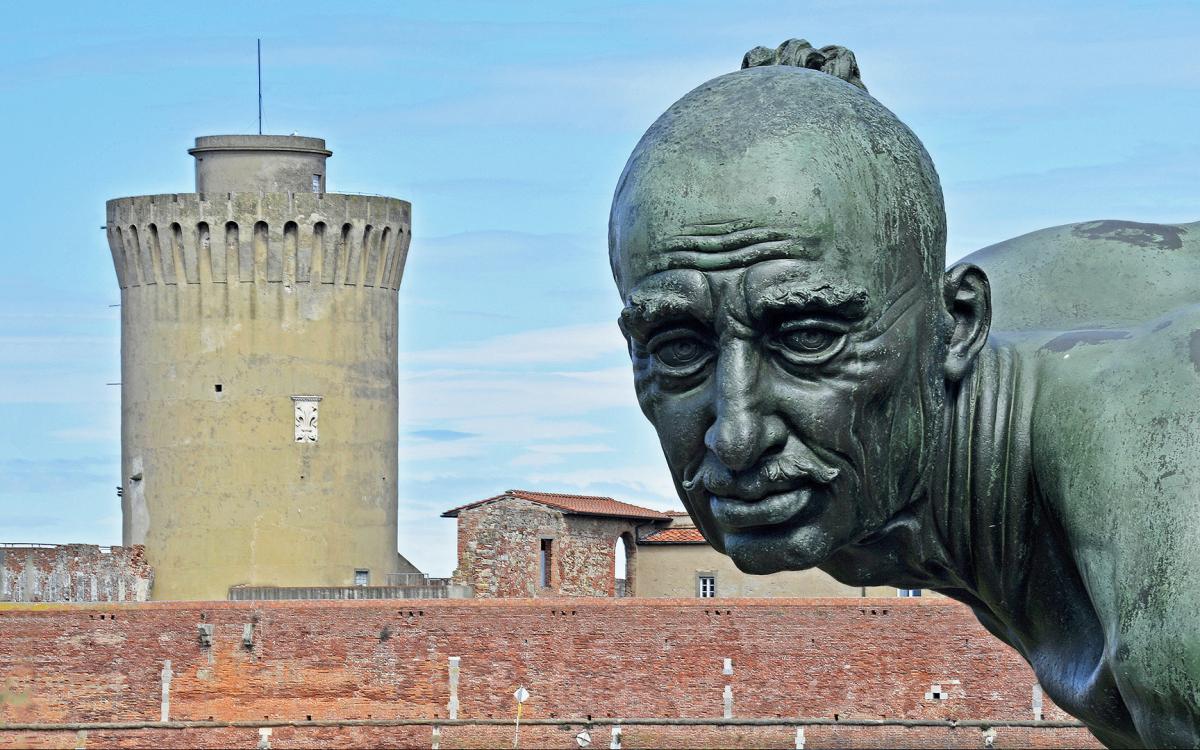 Fortezza Vecchia di Livorno - Mastio e Moro incatenato