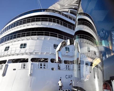 Porto Livorno - Nave da crociera