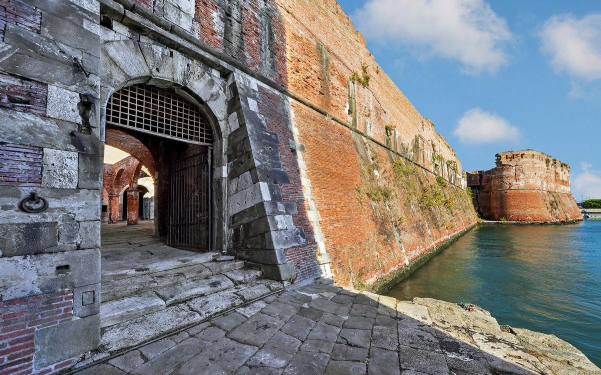 Fortezza Vecchia di Livorno - Ingresso e approdo