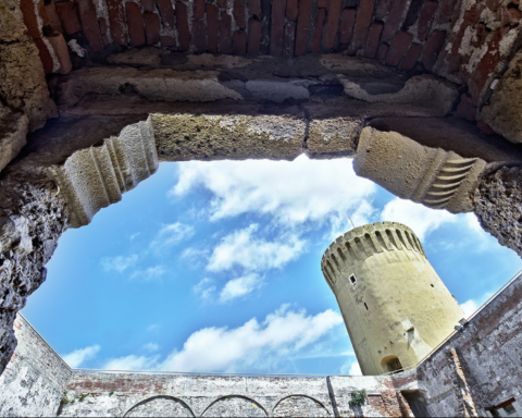 Fortezza Vecchia di Livorno - Mastio visto da Torre quadrata
