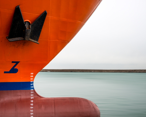 Megaship in Darsena Europa