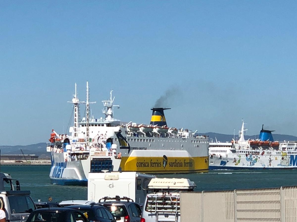 Traghetti in arrivo a Piombino