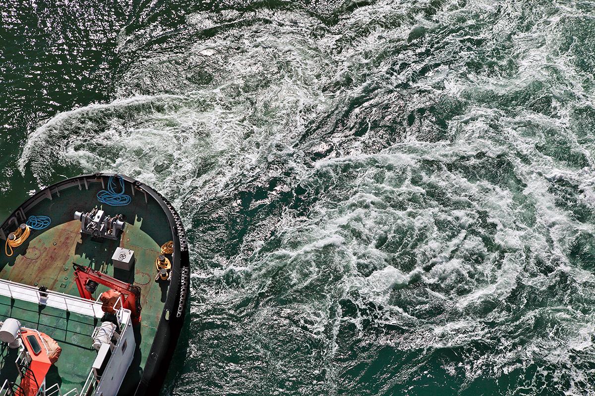 Al largo del Porto Livorno